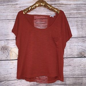 Charlotte Russe Lace Back Top